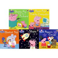 Stories with Peppa Pig: 10 Kids Picture Books Bundle