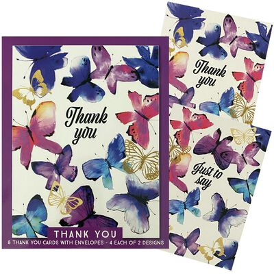Assorted Thank You Notecards: Pack of 8 image number 4