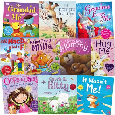 Lovely Bedtime Tales: 10 Kids Picture Books Bundle image number 1