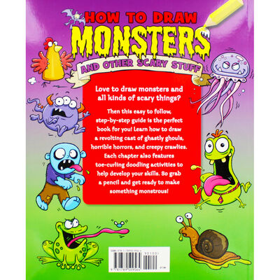 How to Draw Monsters and Other Scary Stuff image number 3