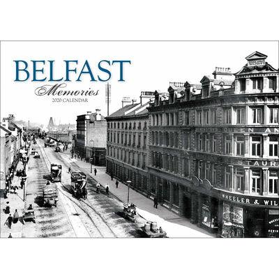 Belfast Memories 2020 A4 Wall Calendar image number 1