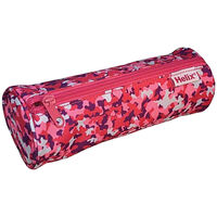 Helix Oxford Camo Pencil Case: Pink