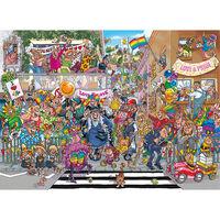 Wasgij Original 34: A Piece of Pride 1000 Piece Jigsaw Puzzle