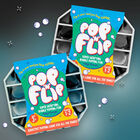 Pop 'N' Flip Bubble Popping Fidget Game: Assorted Tie-Dye Black image number 4