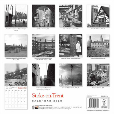 Stoke-on-Trent Heritage 2020 Wall Calendar image number 3