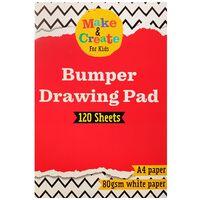 A4 Bumper Drawing Pad: 120 Sheets