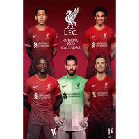 A3 Official Liverpool FC 2022 Calendar