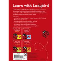 Learn With Ladybird: First Spelling Activity Book