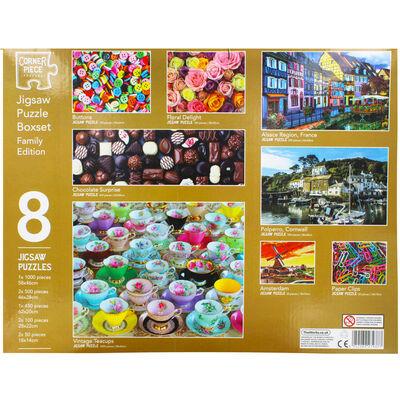 Family Jigsaw Puzzle Boxset - 8 Jigsaw Puzzles image number 3