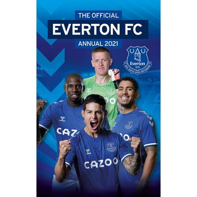 The Official Everton Annual 2021 image number 1