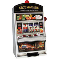 Coin Return Slot Machine Money Bank