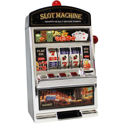 Coin Return Slot Machine Money Bank image number 2