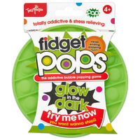 Glow in the Dark Fidget Pop: Assorted