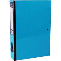 Bright Blue Foolscap Box File