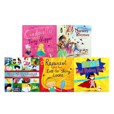 Fairy Tales and Nursery Rhymes: 10 Kids Picture Books Bundle image number 3