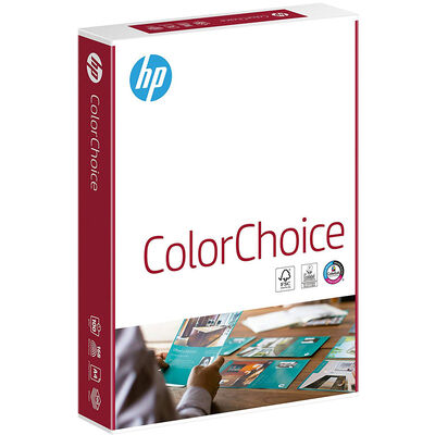 HP A4 Colour Choice 100gsm Laser Printer Paper - 500 Sheets image number 1