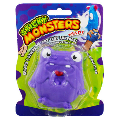 Purple Sticky Stretch Monster Ball image number 1