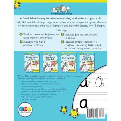 My Unicorn School Writing Workbook: Age 3‑5 image number 2