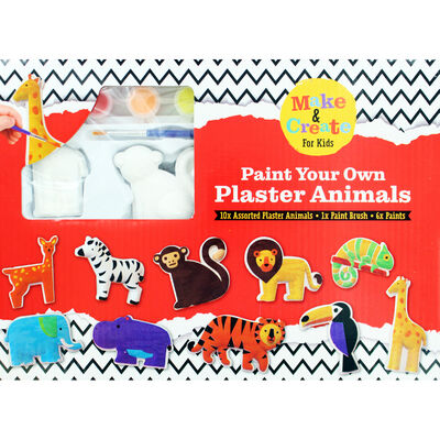 Paint Your Own Plaster Animals image number 2