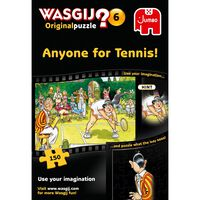 Wasgij Original 6 Anyone for Tennis 150 Piece Jigsaw Puzzle