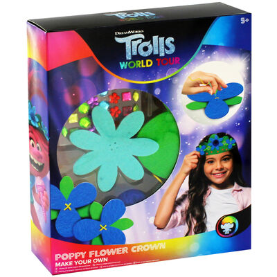 Trolls Make Your Own Poppy Flower Crown image number 1