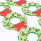 Felt Wreaths - 6 Pack image number 2