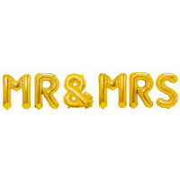 Mr and Mrs Foil Balloon