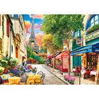 Small Street Paris 1000 Piece Jigsaw Puzzle image number 2