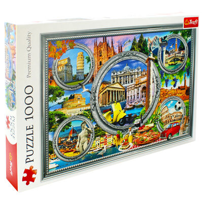Italian Holiday 1000 Piece Jigsaw Puzzle image number 1