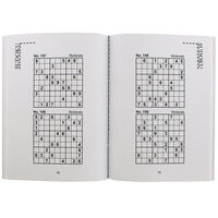 Pocket Puzzles Green Floral Sudoku Book