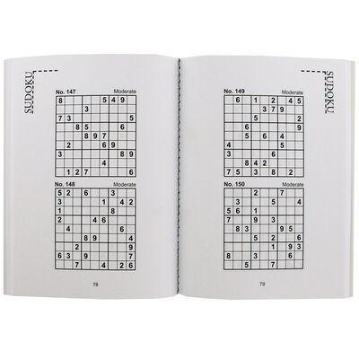 Pocket Puzzles Green Floral Sudoku Book image number 2