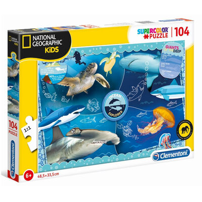 Sealife Explorer 104 Piece Jigsaw Puzzle image number 1