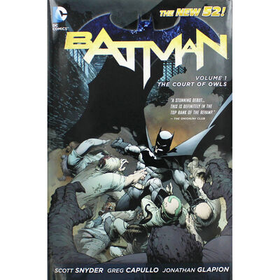 Batman: Volume 1 - The Court Of Owls image number 1