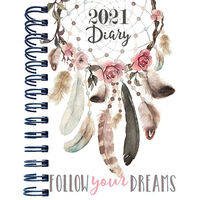 B5 Dream Catcher 2021 Day a Page Diary