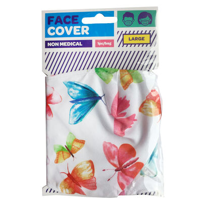 Butterfly Reusable Face Covering image number 1