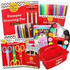 Kids Mega Art Essentials & Caddy Bundle image number 1