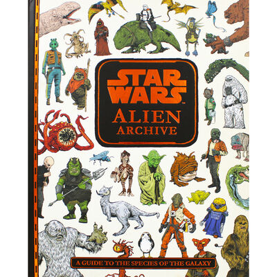 Star Wars Alien Archive: A Guide to the Species of the Galaxy image number 1