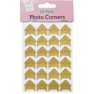 Assorted Photo Corners: Pack of 24 image number 1
