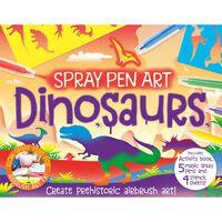 Spray Pen Art Dinosaurs