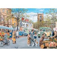 Market Day Skipton 1000 Piece Jigsaw Puzzle