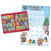 Paw Patrol Countdown to Christmas Advent Reward Chart