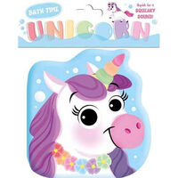 Unicorn Shaped Bath Book