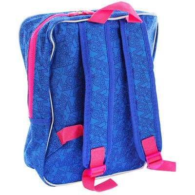 LOL Surprise Holographic Blue Backpack image number 4