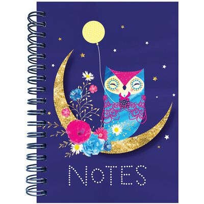 A6 Owl Wiro Notebook image number 1