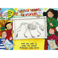 Safari Animal Adventure: Magic Skeleton Book