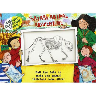 Safari Animal Adventure: Magic Skeleton Book image number 1