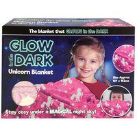 Glow in the Dark Unicorn Blanket