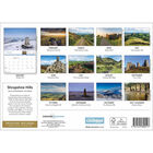 Shropshire Hills 2020 A4 Wall Calendar image number 2