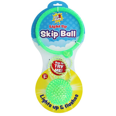 Out 2 Play - Light Up Skip Ball - Assorted image number 3
