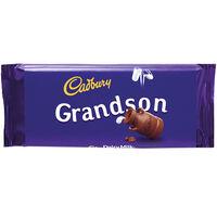 Cadbury Dairy Milk Chocolate Bar 110g - Grandson